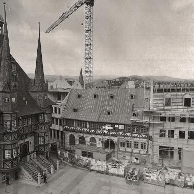 """Umbau des """"GothischenHauses"""" in den 1990er Jahren - Dieter Oemler"""