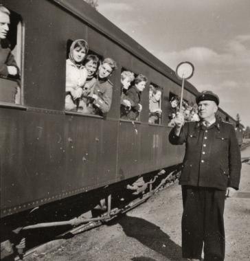 Fahrt mit der Harzquerbahn - Archiv Möbius
