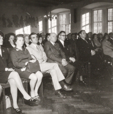 Festliche Stadtverordnetensitzung aus Anlass des 20. Jahrestages der DDR. - Stadtarchiv Wernigerode (Archiv Dieter Möbius)