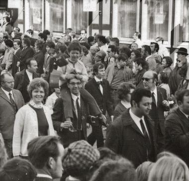 Maidemonstration - Stadtarchiv Wernigerode (Archiv Dieter Möbius)