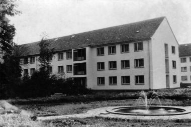 """Bettenhaus des FDGB-Ferienheims """"Georgi Dimitrow"""" - Mahn-und Gedenkstätte Archiv"""