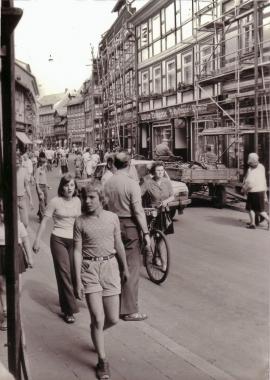 erste Fußgängerzone - Mahn-und Gedenkstätte Archiv