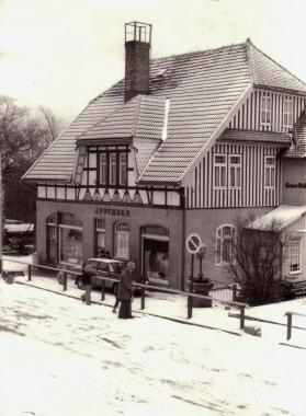 Historische Apotheke in Schierke - Mahn-und Gedenkstätte Archiv