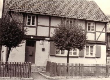 Gemeindebüro in Reddeber - Mahn-und Gedenkstätte Archiv