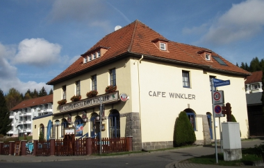 """Restaurant & CafeWinkler"" in Schierke © Wolfgang Grothe"