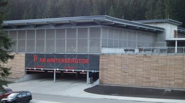 "Neues Parkhaus ""Am Winterbergtor"" in Schierke © Wolfgang Grothe"