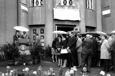 Besuch aus der Partnerstadt Carpi - Stadtarchiv Wernigerode (Archiv Dieter Möbius)
