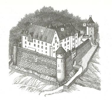 Burg um das Jahr 1494 - Karl-Heinz Döring