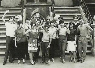 Jugendgruppe aus der Partnerstadt Carpi - Stadtarchiv Wernigerode (Archiv Dieter Möbius)