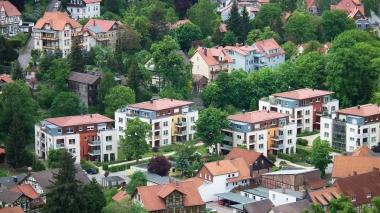 Wohnungsneubau auf dem Gelände des ehemaligen Stadtgartens © Wolfgang Grothe