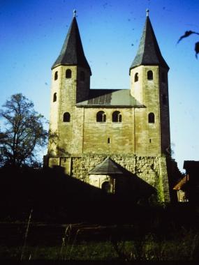 Romanische Klosterkirchein Drübeck 2002 © Wolfgang Grothe