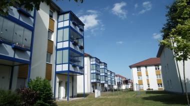 Neubauten in der Ilsenburger Straße auf ehemaligem Industriegelände © Wolfgang Grothe