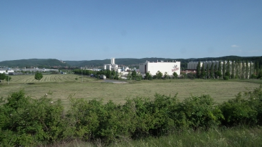 Industrieansiedlungen im Nordwesten der Stadt © Wolfgang Grothe