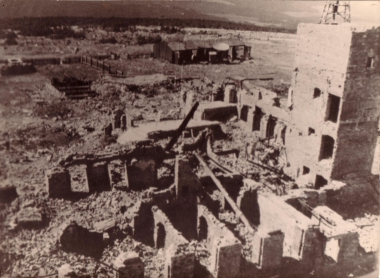 Bombardierung des Brockens - Mahn-und Gedenkstätte Archiv