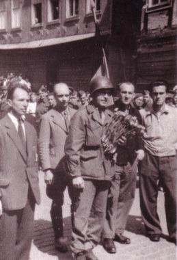 Der amerikanische Kampfkommandant in Wernigerode - Archiv Mahn-und Gedenkstätte