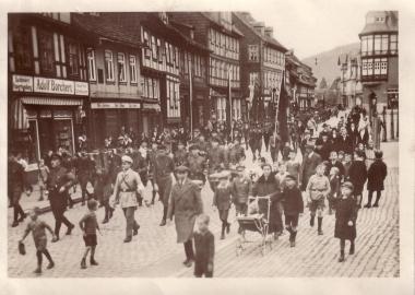 Maifeier 1931 in Wernigerode - Archiv Mahn- und Gedenkstätte