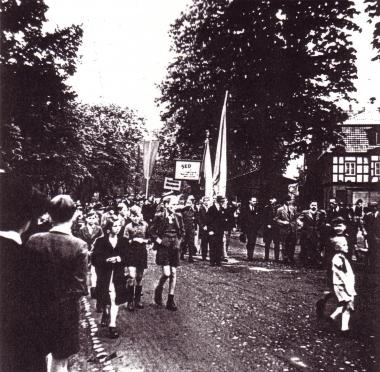 Kundgebung 1946 - Archiv Mahn- und Gedenkstätte