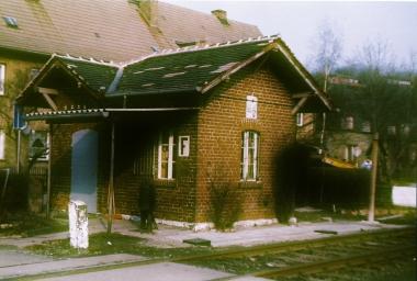 Bahnwärterhäuschen am Veckenstedter Weg 1993 - Horst Duve