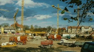 Bauarbeiten in der Albert-Bartels-Straße - Horst Duve