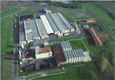 Hasseröder Brauerei / Luftbildaufnahme - Hasseröder Brauerei