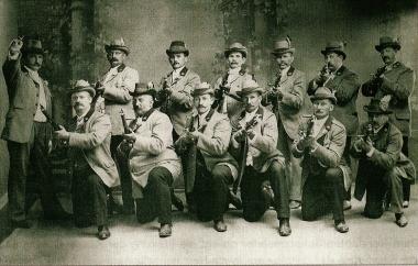 Hasseröder Schützengesellschaft um 1898 - Hasseröder Schützengesellschaft