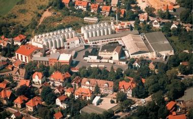 Blick auf die alte Hasseröder Brauerei - Hasseröder Brauerei