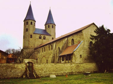 Romanische Klosterkirche Drübeck um 2000 © Wolfgang Grothe