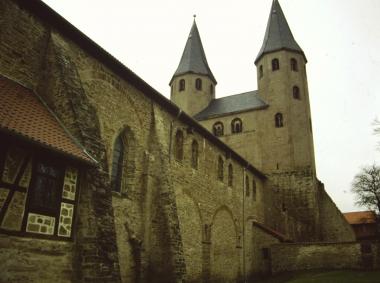 Romanische Klosterkirche Drübeck 1995 © Wolfgang Grothe