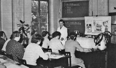 Ausbildung an der Agraringenieurschule Wernigerode - Archiv Manfred Fuhlroth