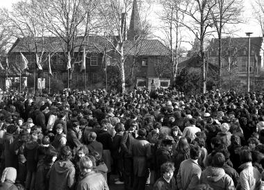 Feierstunde zum 100. Todestag am Karl-Marx-Denkmal - Dieter Oemler