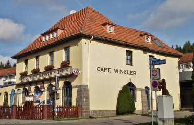 Cafe Winkler in Schierke 2015 © Wolfgang Grothe