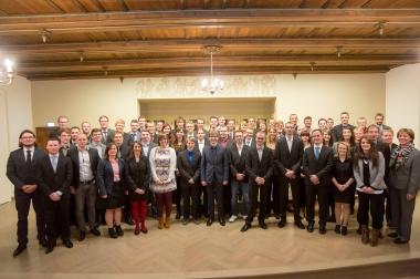 Feierliche Exmatrikolation von Absolventinnen und Absolventen der Hochschule Harz - Hochschule Harz