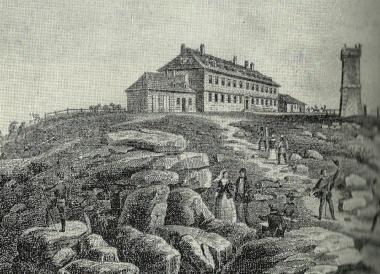 Brockenhaus - vermutlich 1862 - gemeinfrei