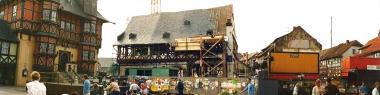 """Erneuerung des Hotels """"Gothisches Haus"""" 1990 - Horst Duve"""