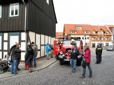 Rundfahrten - Feuerwehrmuseum Wernigerode - Pressestelle Stadtverwaltung Wernigerode