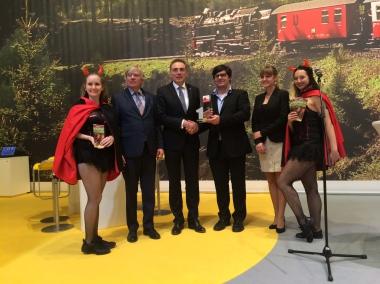 Auszeichnung auf der ITB 2016 - Wernigerode ist beliebtester Ferienort Deutschlands - Stadtverwaltung Wernigerode