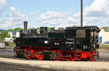 Mallett - Lokomotive - Wassen