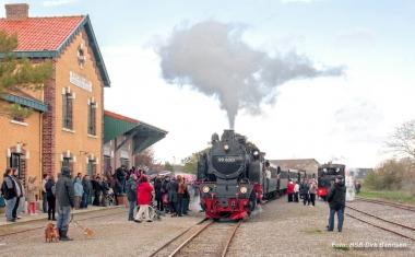 Die Lok 996001 der HSB in Frankreich - Dirk Bahnsen