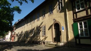 Das ehemalige Pfarrhaus am Liebfrauenkirchhof 3/4 2016 © Wolfgang Grothe