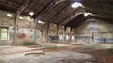 Zustand des ehemaligen Palmenhauses 2016 © Wolfgang Grothe