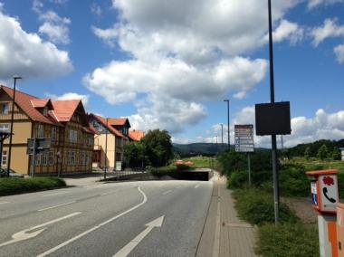 Östliche Zufahrt in den Altstadtkreisel © Wolfgang Grothe