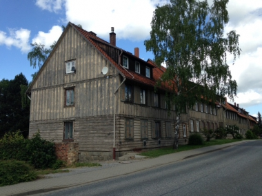 Häuser am Veckenstedter Weg 2016 © Wolfgang Grothe