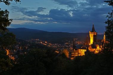 Das Schloss wird am 30. März am Abend für eine Stunde das Licht abstellen. - Matthias Bein