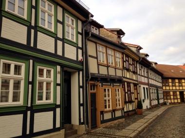 Häuser in der Hinterstraße - erbaut 1597 © Wolfgang Grothe
