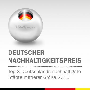 Deutscher Nachhaltigkeitspreis 2016 - Stadtverwaltung Wernigerode