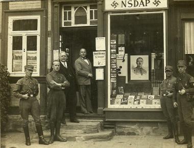 Parteibüro der NSDAP in Wernigerode am Markt - Fotothek Harzbücherei Wernigerode