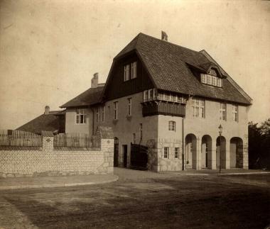 Städtischer Schlachthof im Dornbergsweg - Fotothek Harzbücherei Wernigerode