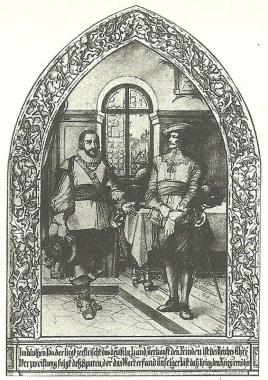 Graf Christoph und Albrecht von Wallenstein - Dieter Oemler