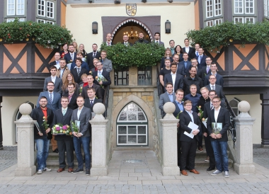 Exmatrilulationsfeier - Hochschule Harz