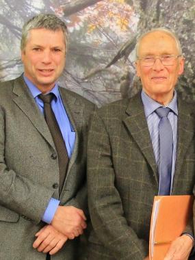 Lutz Peters und Dr. Uwe Wegener - neue Vorsitzende des Nationalpark - Beirats - Nationalpark Harz